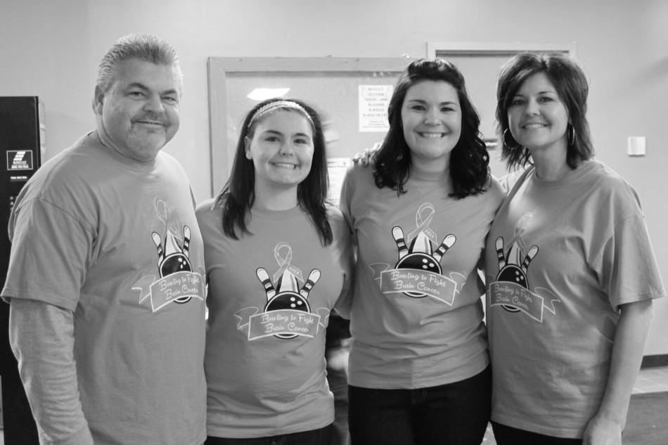 Alysse Nicholson's parents and sisters keep her memory alive with an annual bowling fundraiser