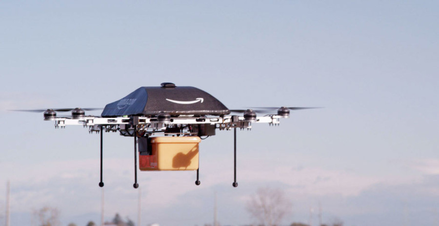 Amazon drones to be tested outside