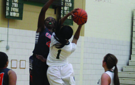Senior Hennessey Handy goes up for a layup in their loss against  Plainfield East on Tuesday, Dec. 1.