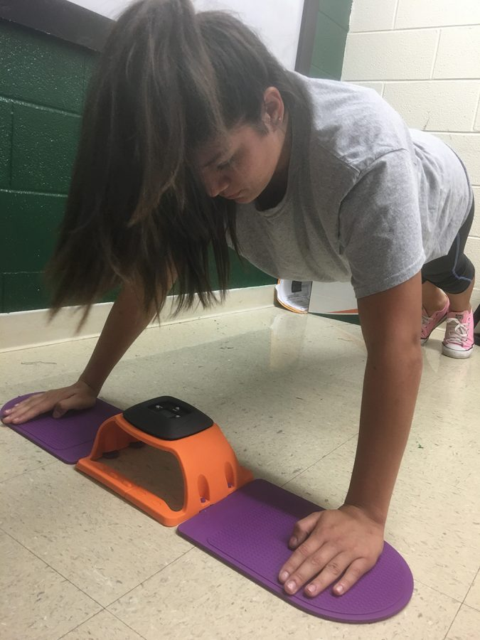 New fitness testing rules enacted: Chest-hand pad apparatus included in new push-up test