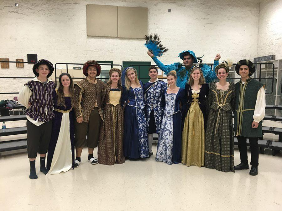 Madrigals delights with food, music