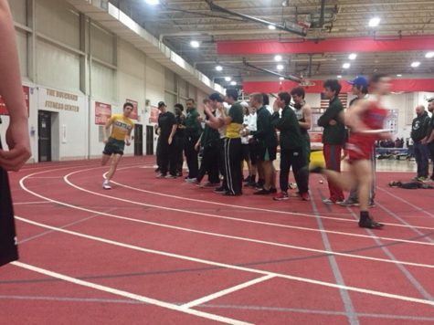 Track races towards victory