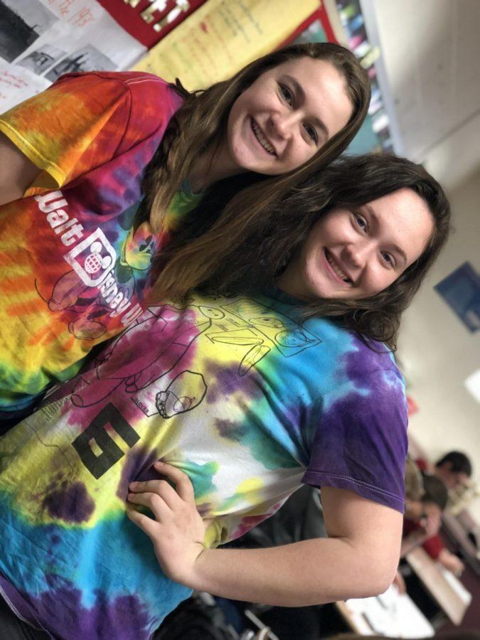 Kailey Blunk and Stephanie Shields