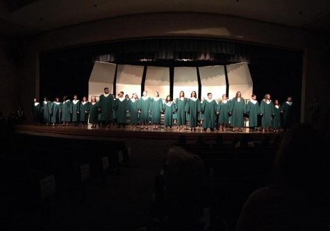 Music department bids seniors farewell