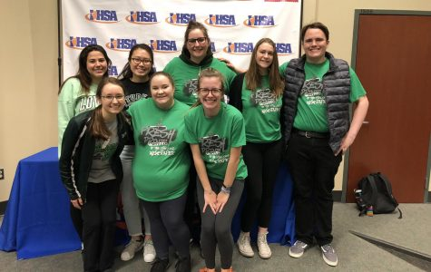 Newspaper Staff Qualifies for State