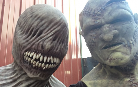 Student monsters at Statesville elicit fright, laughter