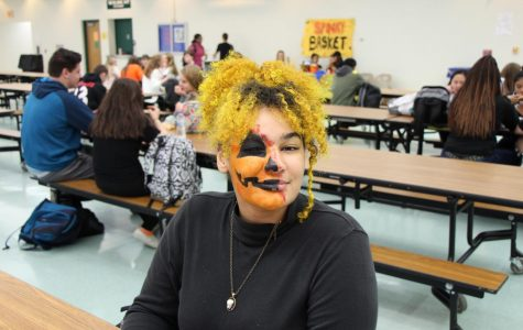 Students, staff dress for Halloween