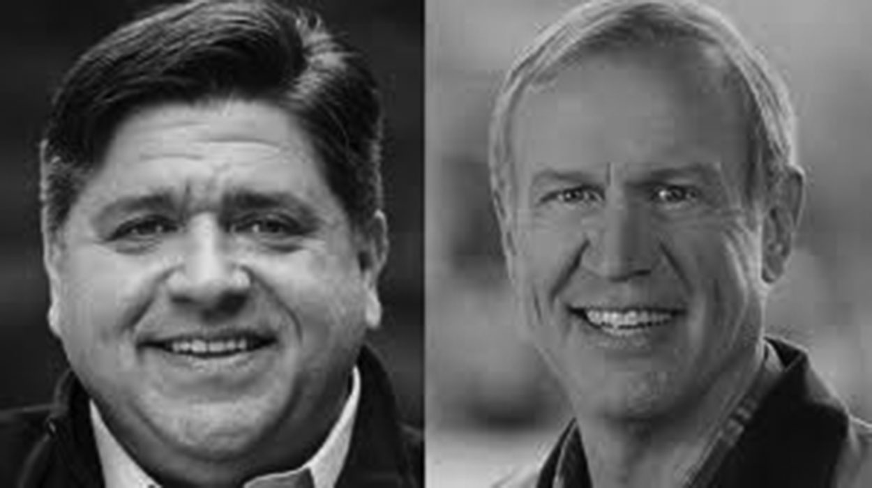 30% of students were unable to identify J.B. Pritzker (left) and 45% of students were unable to identify Governer Bruce Rauner (right) in a survey of 200 students.