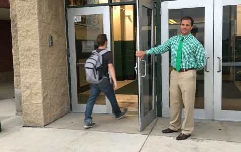 Principal Dave Stephens opens doors to success