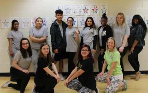 Student dancers leap into show preparation