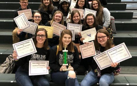 Fielder staff wins trophy, places top 10 in state