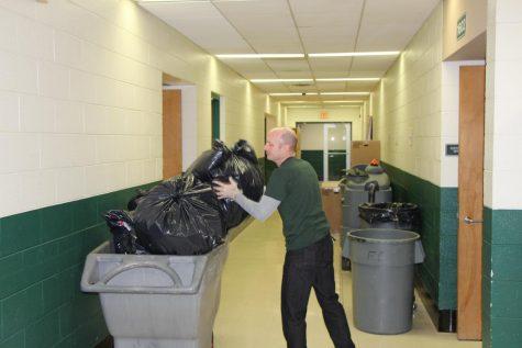 Custodians take pride in keeping school clean