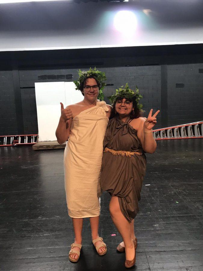 Cody Gorecki(senior) and Christina Velazquez(senior)