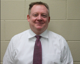 Chris Chlebek is the new principal.