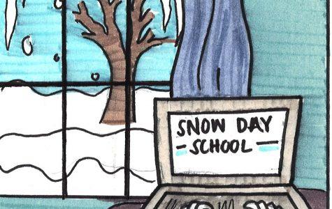 Makeup snow days online, not in school