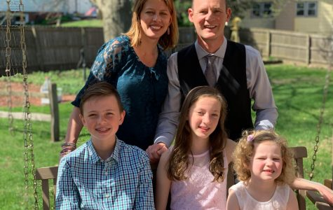 Melinda Bjork, science teacher, and her husband have three children ages 14, 11, and four.