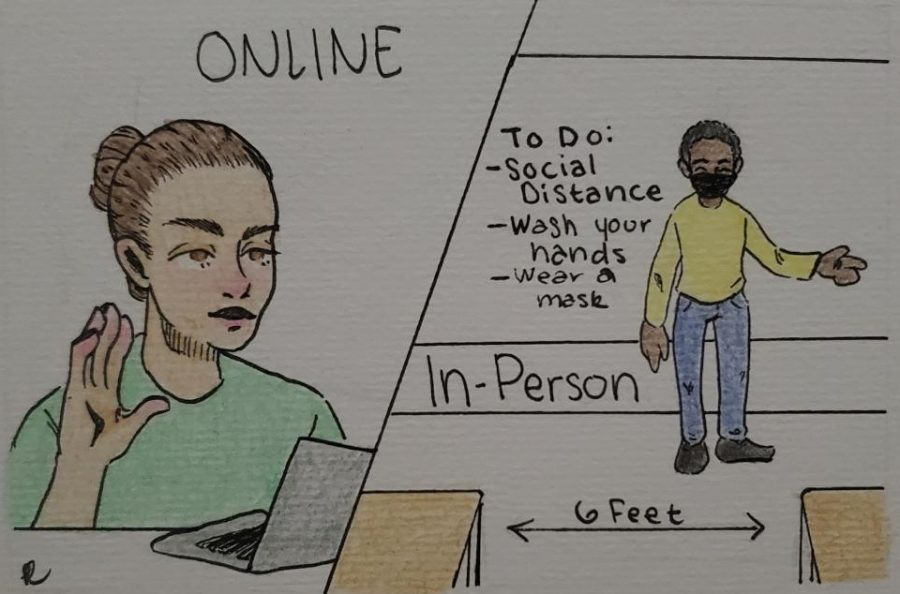 Which is better: online learning or in-person?