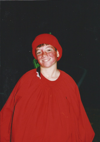 The tomato costume from 1998!