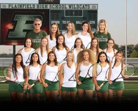 The tennis team became conference champs with their win in the tournament on Oct. 8