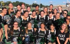 Poms Team last year.
