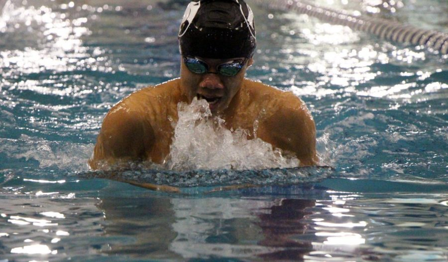 Boys swim go undefeated after win against Joliet